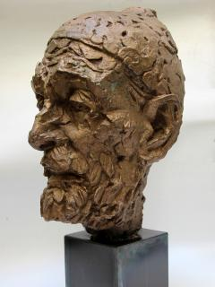 Willem Verbon Willem Verbon Kees Van Dongen ninety years old first bronze cast 1968 - 1255876