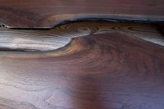 William Alburger A Crack in Time Bespoke Coffee Table Mixed Media Wood Eco Sculpture - 1118759