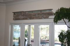 William Alburger Blue Yacht 8ft Bespoke Headboard Mantel Shelf Wall Eco Sculpture - 1123176