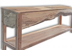William Alburger Landscape Bespoke Console Table Sofa Entry Wood Eco Sculpture - 1131412