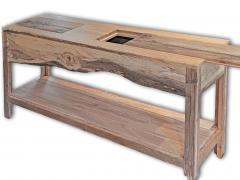 William Alburger Landscape Bespoke Console Table Sofa Entry Wood Eco Sculpture - 1131414