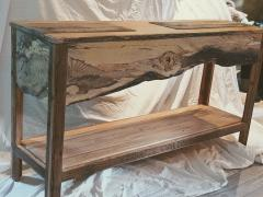William Alburger Landscape Bespoke Console Table Sofa Entry Wood Eco Sculpture - 1131689