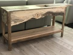 William Alburger Landscape Bespoke Console Table Sofa Entry Wood Eco Sculpture - 1131721