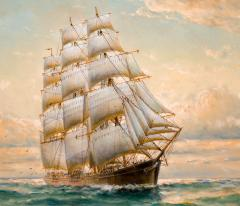 William Alexander Coulter The Clipper FLYING CLOUD - 1508680