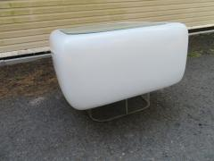 William Andrus Space Age Steelcase Side Table by William Andrus Mid Century Modern - 1454192