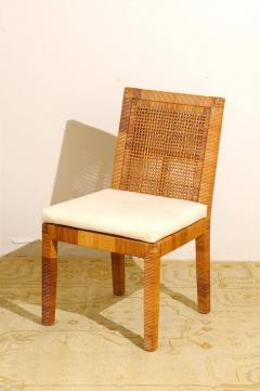 William Billy Baldwin Jr Set Of Six Dining Chairs By Billy Baldwin For  Bielecky Brothers