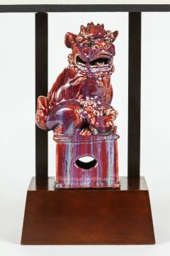 William Billy Haines Armature Lamp Featuring a Chinese Foo Dog by William Haines - 181624