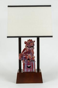 William Billy Haines Armature Lamp Featuring a Chinese Foo Dog by William Haines - 181627