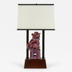 William Billy Haines Armature Lamp Featuring a Chinese Foo Dog by William Haines - 181629