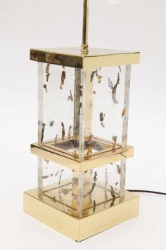 William Billy Haines Brass and Lucite Table Lamp by William Haines - 184991