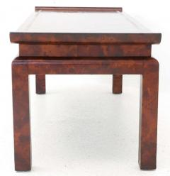 William Billy Haines Chinoiserie Style Leather Cocktail Table by William Haines - 184982