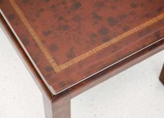 William Billy Haines Chinoiserie Style Leather Cocktail Table by William Haines - 184984