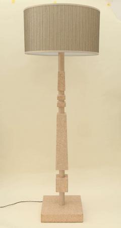 William Billy Haines Cork Veneered Floor Lamp by William Haines - 182083