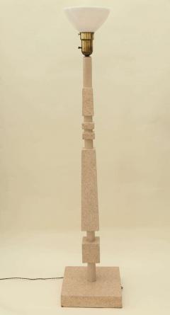 William Billy Haines Cork Veneered Floor Lamp by William Haines - 182084