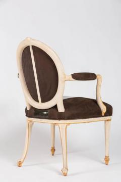 William Billy Haines Pair of Leather Upholstered Fauteuils by William Billy Haines - 260442
