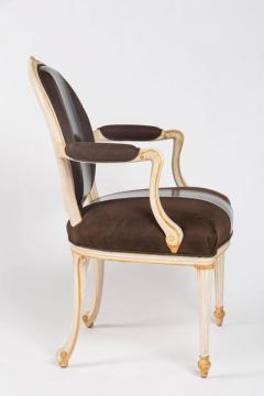 William Billy Haines Pair of Leather Upholstered Fauteuils by William Billy Haines - 260446