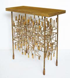 William Bowie A Unique Gilt Metal Console Table by William Bowie - 1835737