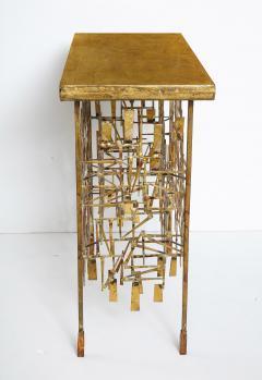 William Bowie A Unique Gilt Metal Console Table by William Bowie - 1835741