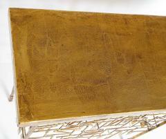 William Bowie A Unique Gilt Metal Console Table by William Bowie - 1835744