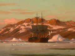 William Bradford American Whaler in Arctic Waters - 1508705