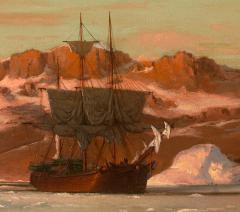 William Bradford American Whaler in Arctic Waters - 1508706