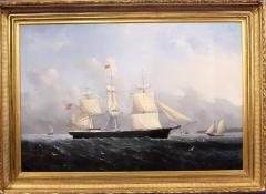 William Bradford Ship Harry Bluff by William Bradford - 88360