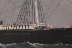 William Bradford Ship Harry Bluff by William Bradford - 88361