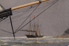 William Bradford Ship Harry Bluff by William Bradford - 88364