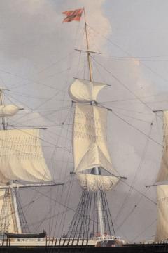 William Bradford Ship Harry Bluff by William Bradford - 88365