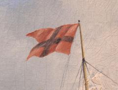 William Bradford Ship Harry Bluff by William Bradford - 88366