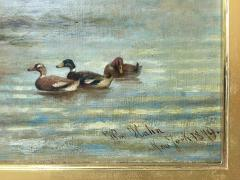 William Carl Wilhelm Hahn Gathering Sedge Shewsbury River New York - 1584165