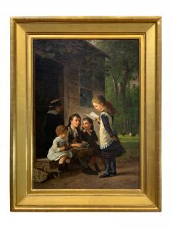 William Carl Wilhelm Hahn Oil Painting from 1879 by American artist William Hahn - 1069200