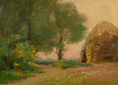 William Dennis Late Afternoon Haystacks - 1316855