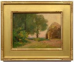William Dennis Late Afternoon Haystacks - 1316856