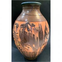 William E rnst Hentschel Prancing Deer by William Hentschel for Rookwood Pottery USA ceramic - 2129125
