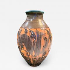 William E rnst Hentschel Prancing Deer by William Hentschel for Rookwood Pottery USA ceramic - 2130891