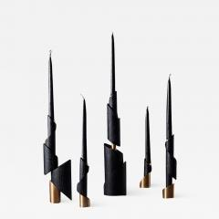 William Guillon ASHES TO ASHES SET 5 Set of 5 candleholders - 2050322