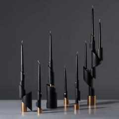William Guillon ASHES TO ASHES SET 6 Set of 6 candleholders - 2049025