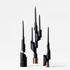 William Guillon ASHES TO ASHES SET 6 Set of 6 candleholders - 2049033