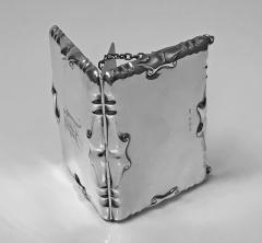 William Haseler Silver Card Case Aide Memoire Purse Birmingham 1908 William Haseler - 1549749