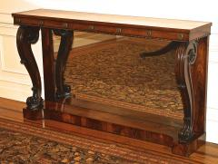William IV Rosewood Console Table - 1785435