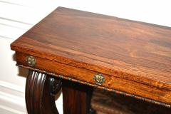 William IV Rosewood Console Table - 1785437
