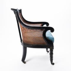 William IV mahogany frame gondola chair - 1729738