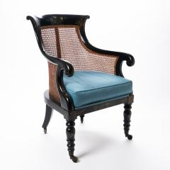 William IV mahogany frame gondola chair - 1729739