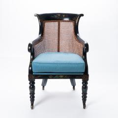 William IV mahogany frame gondola chair - 1729740
