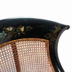 William IV mahogany frame gondola chair - 1729741