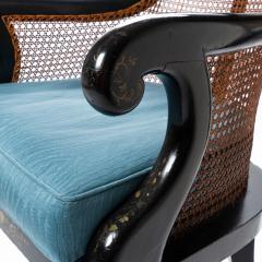 William IV mahogany frame gondola chair - 1729742