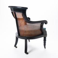 William IV mahogany frame gondola chair - 1729743