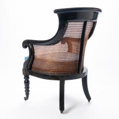 William IV mahogany frame gondola chair - 1729750