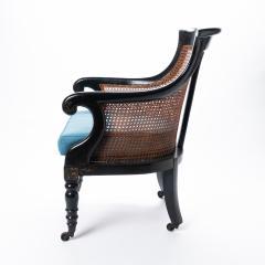William IV mahogany frame gondola chair - 1729754